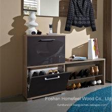 Hot Sale Wooden Shoe Cabinet (HF-EY08147)