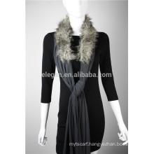 Lady's Poncho Cape Wrap with faux fur
