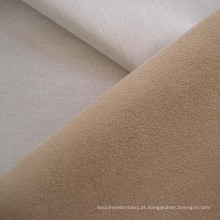 Poliéster Compund camurça do falso sofá estofos em tecido