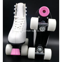 Aluminum roller Skates Shoes with PU wheel