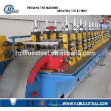 Управление PLC и гидравлическая станция Металлическая стальная машина для производства дорожных покрытий, Машина для профилирования рулонных ворот