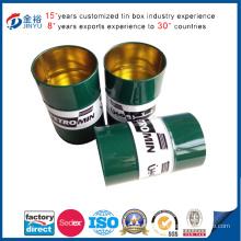 Metal Pen Holder Tin Box for Pen Package
