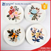 Placa de cerámica de la decoración casera de la alta calidad / la mejor opción placas de pared de la porcelana /