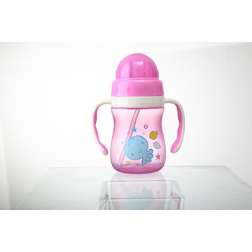 Garrafa para bebes para bebes infantis Baby Straw Cup M