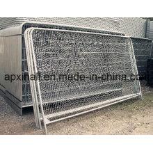 Clôture de cadre Clôture provisoire de poteau rond / barrière de sécurité