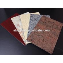 Marble Color PVDF Aluminum Composite Panel For Decoration