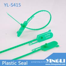 Sello de plástico ajustable con doble bloqueo