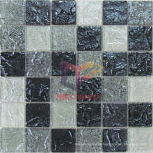 Decorative Construction Materials Crystal Glass Mosaic Tile (TC381)