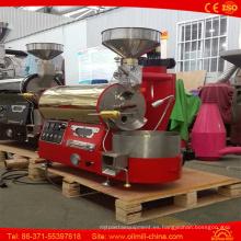 Mini tostador de café de lujo de la máquina de la asación del café de la calidad superior 1kg