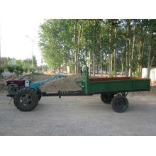 Remolque agrícola de dos ruedas de la capacidad de 1000-1500 kilogramos