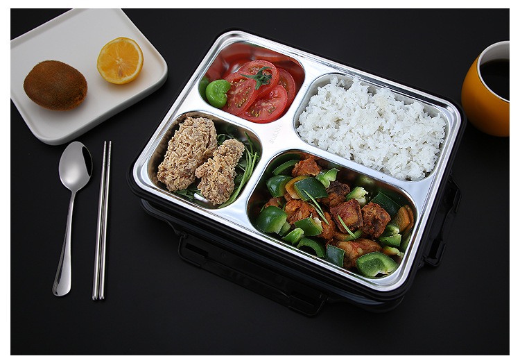 Portable Food Warmer Stainless Steel Bento Lunch Box 5