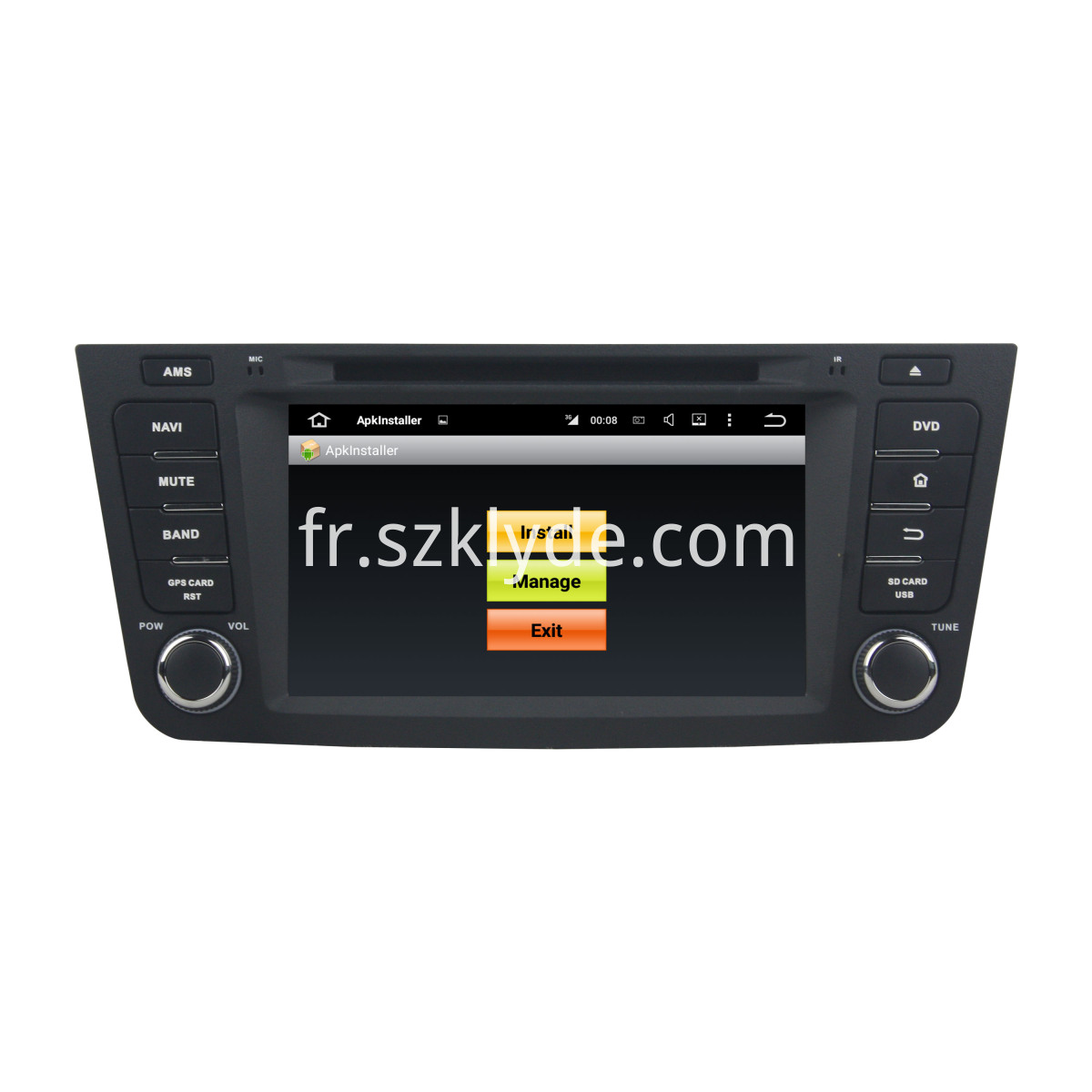 7 inch EX7 car dvd for Geely cars
