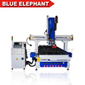 High speed 3d cnc wood sculpture machine , high quality atc rotary spindle cnc router for wood and metal