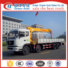 Dongfeng nueva grúa telescópica del carro del brazo de Kinland 8x4 para la venta