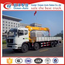 Dongfeng novo Kinland 8x4 guindaste telescópico do caminhão do braço venda