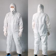 Cobertura protetora para vestuário de trabalho Covid-19