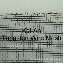 wrapped edge 99.95% tungsten wire mesh