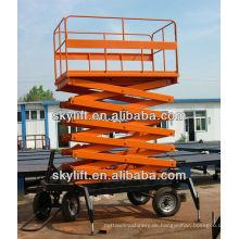 Mobiler Scherenhebebühne -1500kg.Capacity, 15m.Platform Höhe, Ac220v