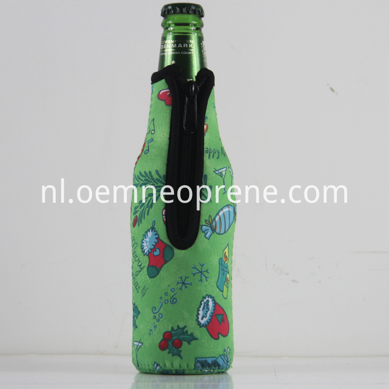 zipper bottle coolers