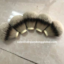 25mm High Mountain Silvertip Badger Hair Knot
