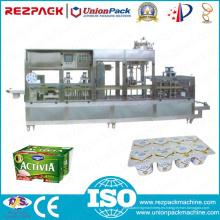 Máquina de empaquetado de la Forma-Lleno-Sello de la taza del yogur de la alta calidad (RZ-8L)