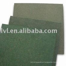 Impermeável placa verde MDF