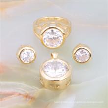 Conjunto de joias de bronze arábica saudita jóias
