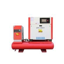 Laser Cutting Integrated Screw Air Compressor 11KW 15HP Air Tank Screw Air Compressor With Dryer
