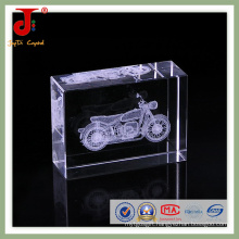 2016 New Creative Laser Engraved Crystal Cube