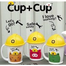 Children's plastic cups
