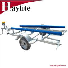 Jet Ski Aluminium boat trailer parts with galvanized frame
