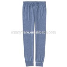 Pantalon pur cachemire d'automne et d'hiver pour des femmes