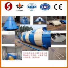 Montagem 100ton silo de cimento de aço para armazenamento de cimento