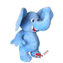 Наполненный животным плюш цветной слон