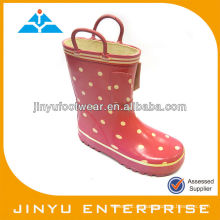 Novety Kids Dots Latexstiefel