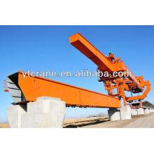 Dedicado ferroviária de passageiros máquina de ereção de viga de ponte alta eficiência