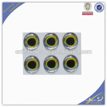 FSLE004 3D fishing eyes multicolor various sizes