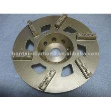PCD grinding cup wheel removal expoxy ,glue,paint of concrete floor
