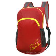 Outdoor Folding Bag, Red Children′s Backpack