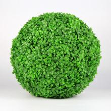 New design natural artificial grass ball garden fence for decoration