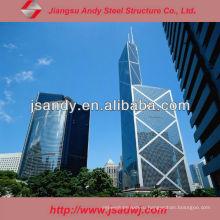 Проектная алюминиевая структурная нержавеющая сталь для стеклянной занавески