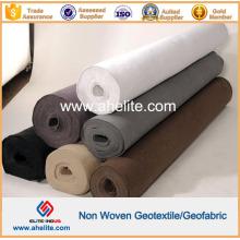 Preto Branco Cinzento Tecido não tecido geotêxtil 100g a 1300g