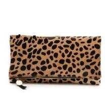 New Arrival Horse Hair Leopard Fashion Charming Clutch (ZX20100)