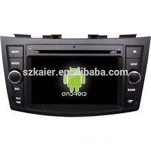 Glonass / GPS Android 4.4 Mirror-link TPMS DVR multimedia central del coche para Suzuki Swift con GPS / Bluetooth / TV / 3G