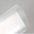 Folhas rígidas de plástico transparente e flexível de PET