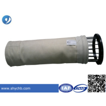 O saco de filtro da poeira cumpre com a gaiola do saco de filtro para a indústria química