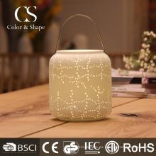 Estilo tradicional led lámpara de mesa del restaurante con forma de jarra