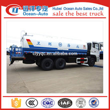 Dongfeng 6x6 water truck,16ton water tanker truck for sale