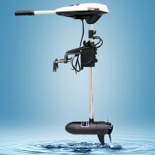 Hangkai 45lbs Schub Heckspiegel montiert Electric Trolling Motor Salzwasser