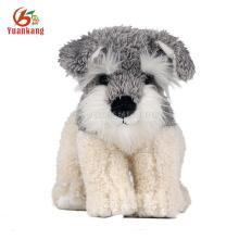 Brinquedos feitos sob encomenda do cão do luxuoso barato do costume 25cm com logotipo